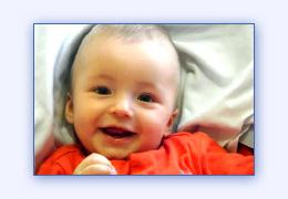 Видео фильм ролик из фотографий на день рождения малыша